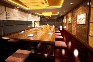 Phòng ăn Vip Kiểu Nhật Góc 1