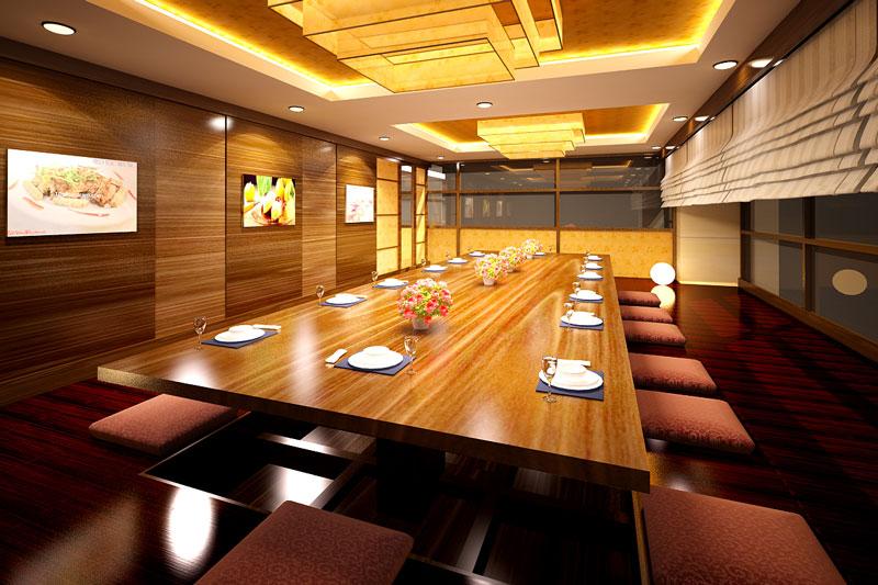 Phòng ăn Vip Kiểu Nhật Góc 2