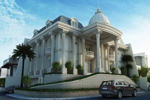 Kiến Trúc Nhà đẹp Theo Phong Cách Cổ điển1