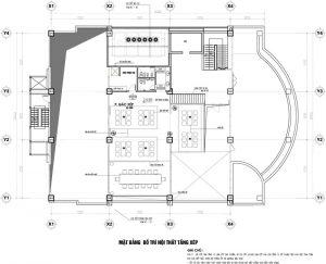 Nhà Hàng Tầng 12 Thành Công Tầng Gác Lửng