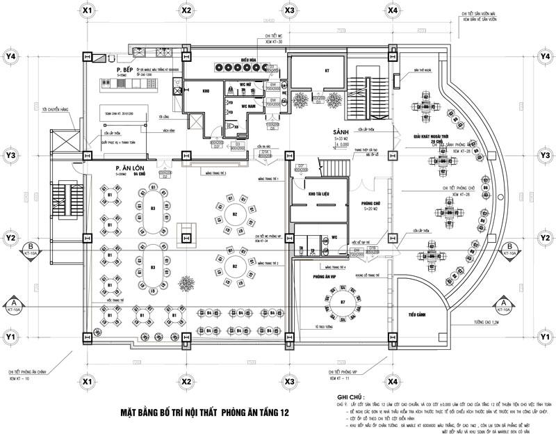 Nhà Hàng Tầng 12 Thành Công