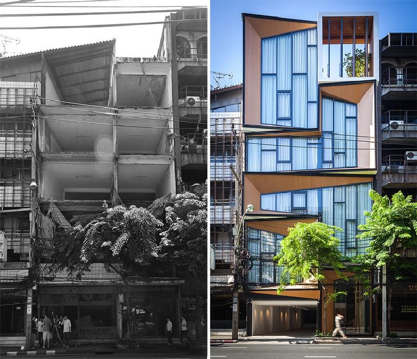 Thiết kế cải tạo kiến trúc các công trình cũ