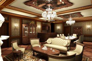 4 10 Mẫu Nội Thất đẹp Cho Phòng Khách Mang Phong Cách Hoàng Gia.4