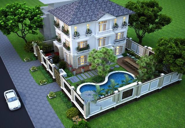 8 10 Mẫu Biệt Thự Nhà Vườn đẹp Nhất Năm 2017.5
