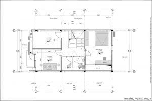 Mặt bằng nội thất tầng 4