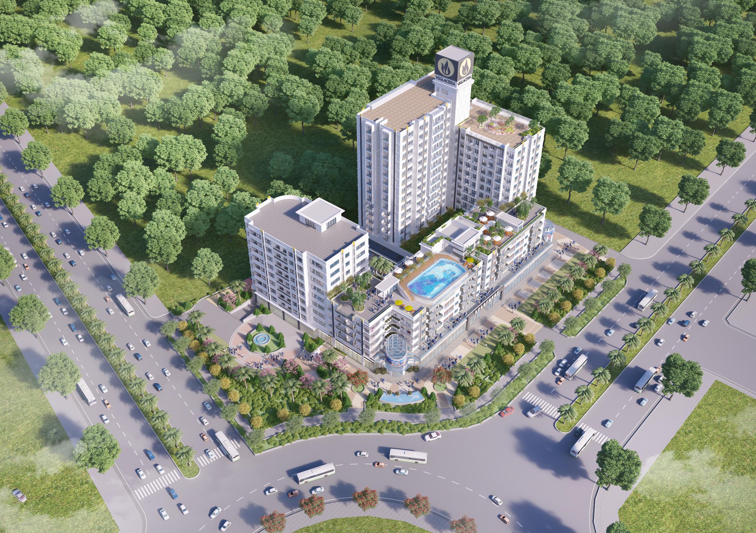 thiết kế xây dựng dân dụng tại bắc ninh Vigracera Bac Ninh