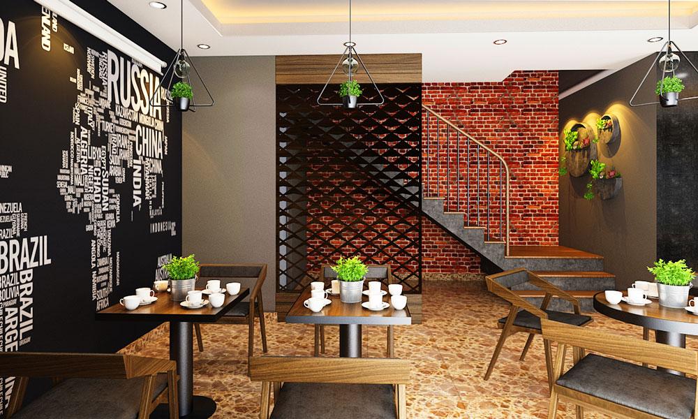 Thiet Ke Noi That Cafe Nha Chi Ly TANG 1 V1