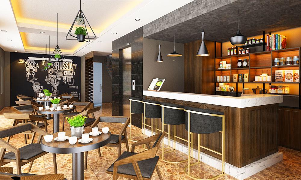 Thiet Ke Noi That Cafe Nha Chi Ly TANG 1 V3
