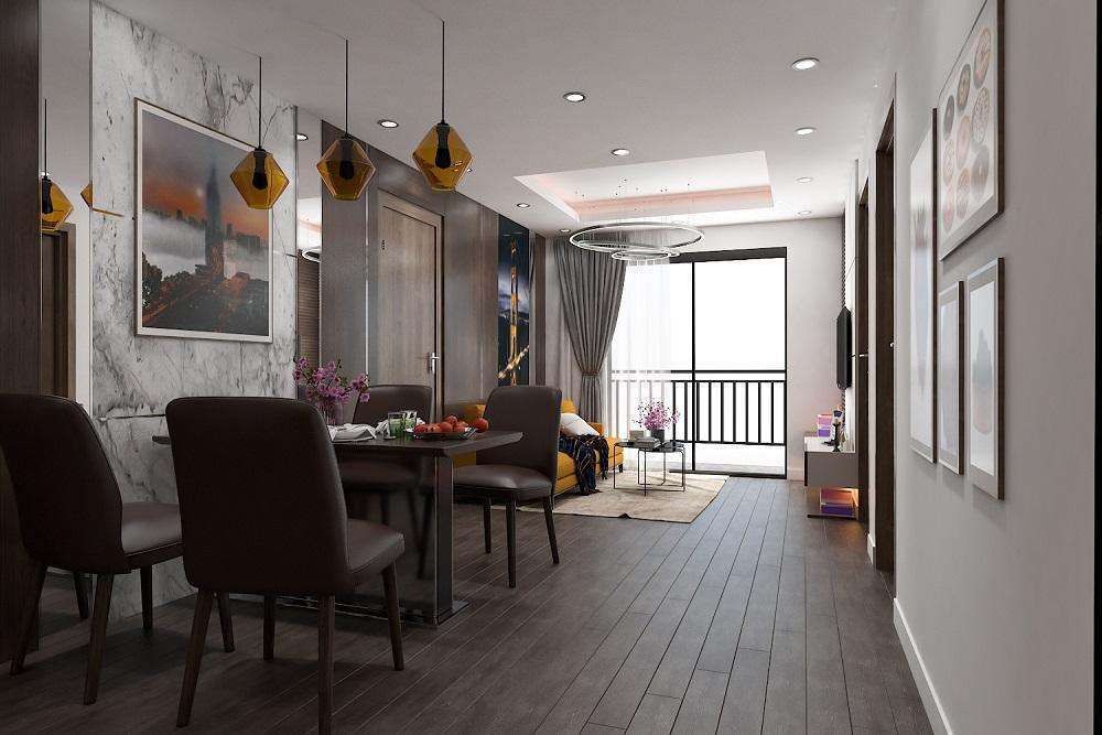 Chung Cu Hope Residences Long Bien Phong Bep 5