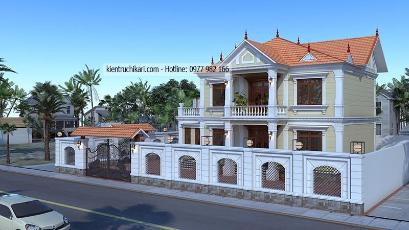 Mau Biet Thu 2 Tang Tại Bac Ninh