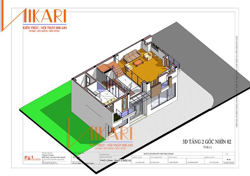 Thiet Ke Nha 3 Tang Gdd Co Hong 10