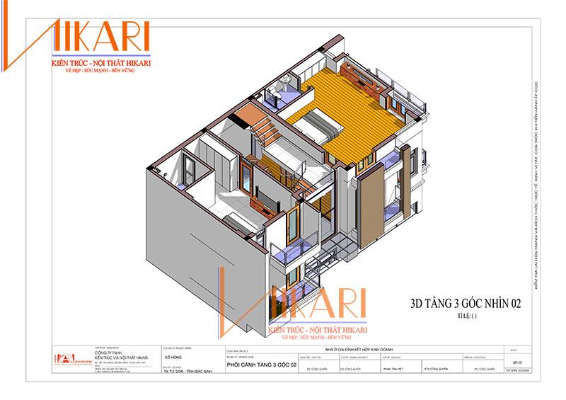 Thiet Ke Nha 3 Tang Gdd Co Hong 12