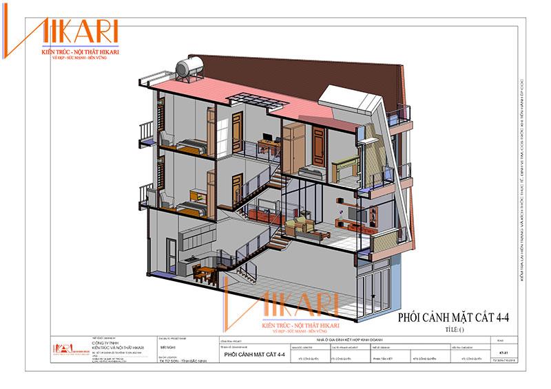 Thiet Ke Nha Pho 3 Tang Gia Dinh Anh Nghi (11)