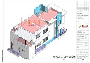 Mau Thiet Ke Nha Pho 3 Tang Tai Bac Ninh 11