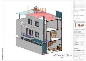 Mau Thiet Ke Nha Pho 3 Tang Tai Bac Ninh 13