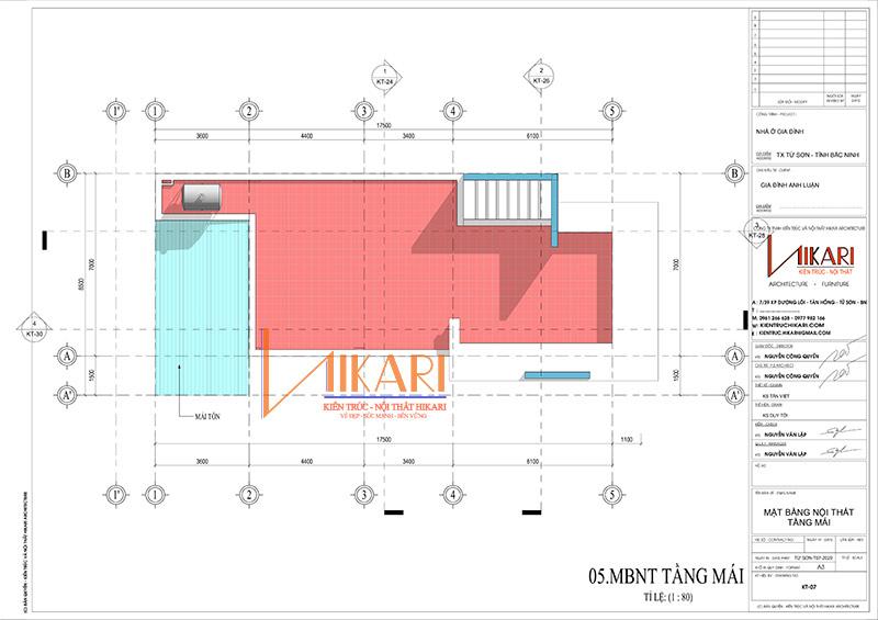 Mau Thiet Ke Nha Pho 3 Tang Tai Bac Ninh 3