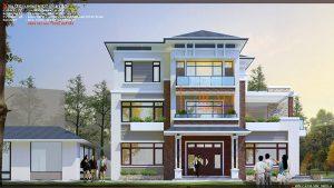 Thiet Ke Kien Truc Biet Thu Tai Bac Ninh 1