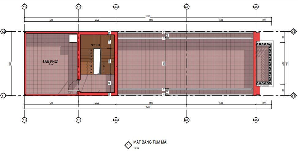 Mau Biet Thu Tan Co Dien 5m 12